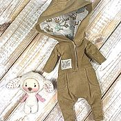 Одежда для кукол ручной работы. Ярмарка Мастеров - ручная работа Комбинезон вельветовый для Блайз. Handmade.
