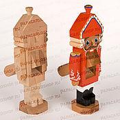 Материалы для творчества ручной работы. Ярмарка Мастеров - ручная работа Щелкунчик деревянный большой. Handmade.