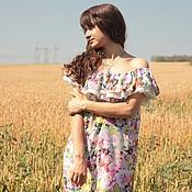 """Одежда ручной работы. Ярмарка Мастеров - ручная работа Платье """"Итальянская роза"""". Handmade."""