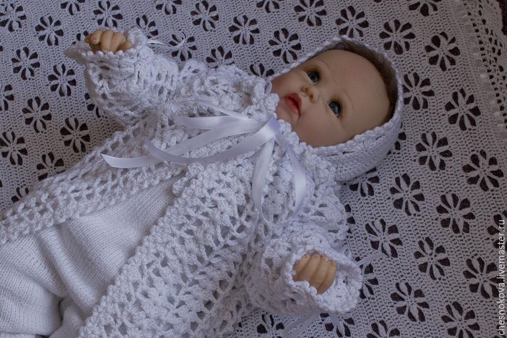 """Для новорожденных, ручной работы. Ярмарка Мастеров - ручная работа. Купить Комплект на выписку для новорожденного """"крошечка"""". Handmade. Для детей"""