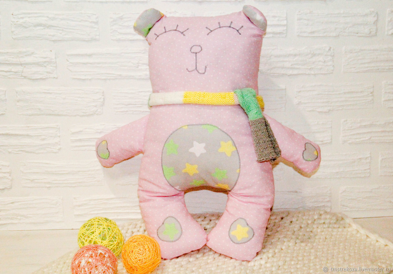 Подушка обнимашка, Мягкие игрушки, Губкин,  Фото №1