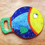 Для дома и интерьера ручной работы. Ярмарка Мастеров - ручная работа Рыба, которая много знала (Сделаю на заказ). Handmade.