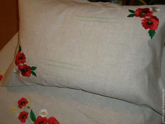 Текстиль, ковры ручной работы. Ярмарка Мастеров - ручная работа. Купить Постельное белье. Handmade. Вышивка на заказ