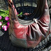 Классическая сумка ручной работы. Ярмарка Мастеров - ручная работа Такие таинственные оттенки♡♡♡М328. Handmade.