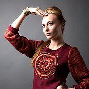 Одежда ручной работы. Ярмарка Мастеров - ручная работа Костюм  Рубин из коллекции Гипноз. Handmade.
