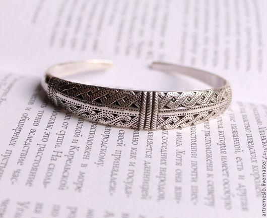 Браслет серебро / Браслет латунь / Браслет женский / Браслет викингов. Браслет из серебра 5500 р. Браслет из латуни 700 р.