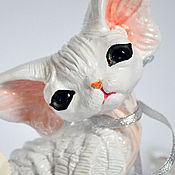 Куклы и игрушки handmade. Livemaster - original item Kiku. Cat Devon Rex.. Handmade.