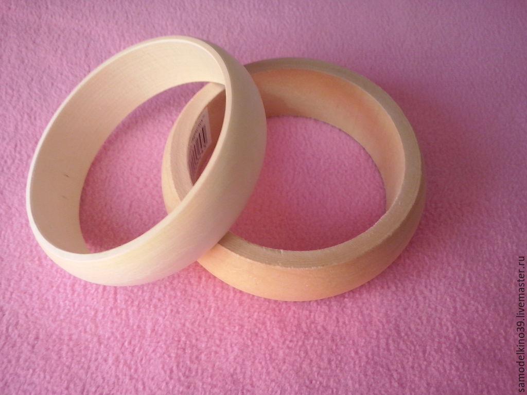 Заготовки для браслетов из дерева