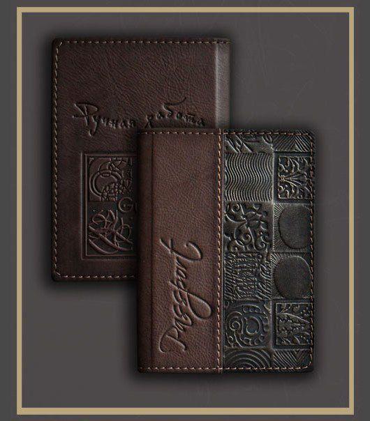 Кошельки и визитницы ручной работы. Ярмарка Мастеров - ручная работа. Купить обложка на паспорт (6407) натуральная кожа. Handmade. Коричневый