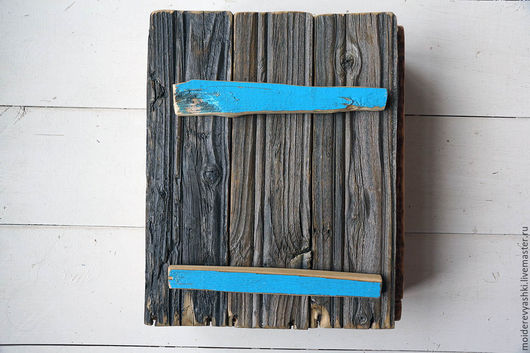 Мини-комоды ручной работы. Ярмарка Мастеров - ручная работа. Купить Шкафчик Винтаж из старого дерева. Handmade. Коричневый, на стену