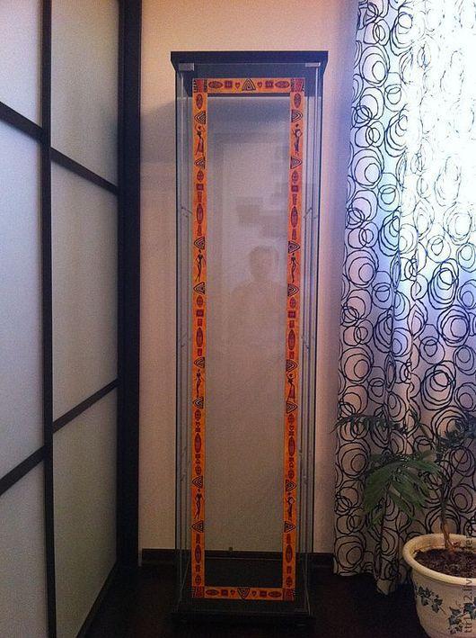 """Мебель ручной работы. Ярмарка Мастеров - ручная работа. Купить Шкаф витрина """"Африка"""". Handmade. Шкаф, Мебель, акрил"""