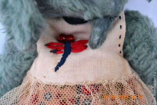 Мишки Тедди ручной работы. Ярмарка Мастеров - ручная работа. Купить juli. Handmade. Морская волна, слоник тедди, опилки