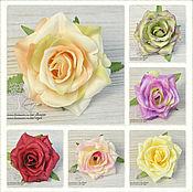 Материалы для творчества ручной работы. Ярмарка Мастеров - ручная работа Головы остроконечных роз (6 расцветок). Handmade.