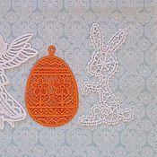 Для дома и интерьера ручной работы. Ярмарка Мастеров - ручная работа Подвеска пасхальный кролик. Handmade.