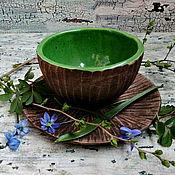 Чайные пары ручной работы. Ярмарка Мастеров - ручная работа Летнего леса чайная пара, кофейная пара, чашка и блюдце. Handmade.