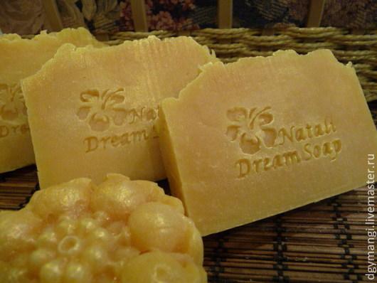 Мыло ручной работы. Ярмарка Мастеров - ручная работа. Купить Лимонный Fresh шелковое мыло. Handmade. Лимонный, натуральное мыло