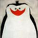 Текстиль, ковры ручной работы. Ярмарка Мастеров - ручная работа. Купить Махровые полотенца Пингвины из Мадагаскара). Handmade. Белый, пингвин