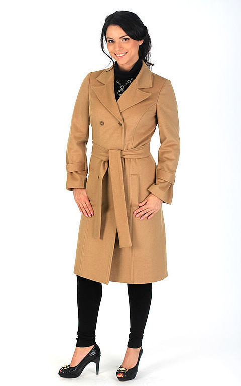 Outer Clothing handmade. Livemaster - handmade. Buy coat - dark beige.Coat, demi, paltoo