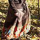 """Юбки ручной работы. Теплая юба """"Шорох листьев"""". Маша Одуванка. Ярмарка Мастеров. Осенняя юбка, рыжий"""