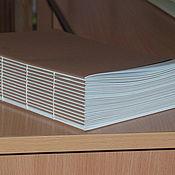 Бумага ручной работы. Ярмарка Мастеров - ручная работа Телефонная книга.Готовый блок для блокнота .Сшитый блок .. Handmade.