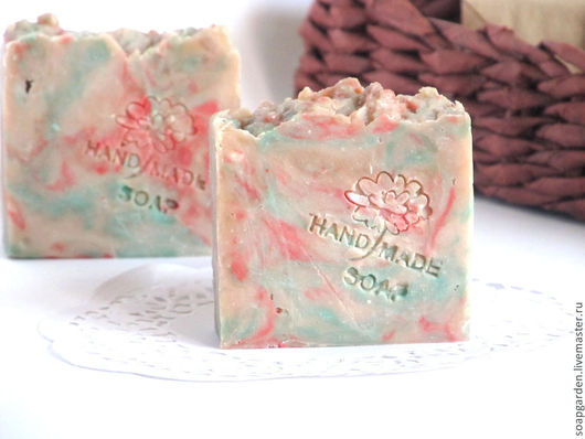 мыло с маслом какао, подарок девушке, мыло с цветочным ароматом, мыло весеннее, мыло с ароматом зеленого яблока, франжипани, цветов вишни и миндаля