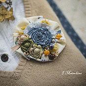 Украшения handmade. Livemaster - original item Brooch Flower. Handmade.