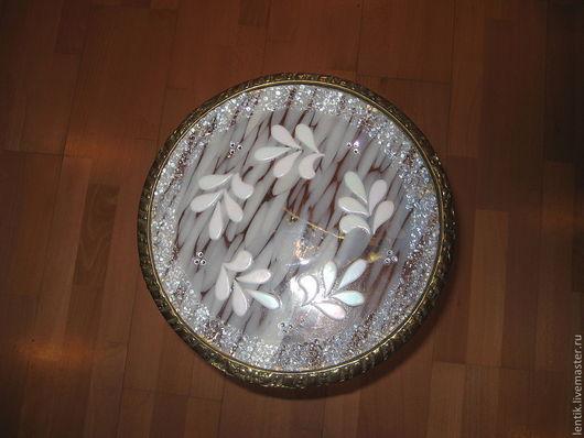Мебель ручной работы. Ярмарка Мастеров - ручная работа. Купить Бронзовый столик. Handmade. Журнальный столик, Цветное стекло