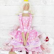 Куклы и игрушки handmade. Livemaster - original item Princess Tilda in pink. interior doll. Handmade.