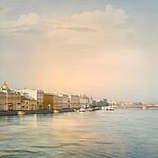Картины и панно ручной работы. Ярмарка Мастеров - ручная работа Фотокартина для интерьера, городской пейзаж панорама Санкт-Петербурга. Handmade.