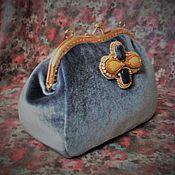 Сумки и аксессуары handmade. Livemaster - original item Handbag/cosmetic bag velvet