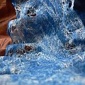 Аксессуары ручной работы. Ярмарка Мастеров - ручная работа Летние облака в осенних водах.. Handmade.