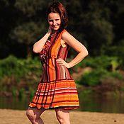 """Одежда ручной работы. Ярмарка Мастеров - ручная работа Летнее платье """"Ribbons"""". Handmade."""