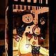 Фонарик-подсвечник `Веселая семейка`. К сожалению, фото зажженного фонарика не передает реальной картины. Излучаемый свет намного светлее и приятнее. Более легкий.