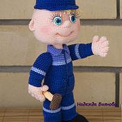 Куклы и игрушки handmade. Livemaster - original item The handy - knitted toy. Handmade.