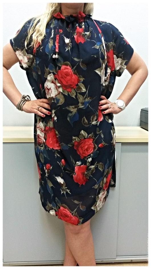 """Платья ручной работы. Ярмарка Мастеров - ручная работа. Купить Платье """"Роза """". Handmade. Тёмно-синий, платье коктейльное"""
