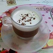 Косметика ручной работы. Ярмарка Мастеров - ручная работа Эклер и чашечка кофе. Handmade.