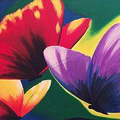 """Картины и панно ручной работы. Ярмарка Мастеров - ручная работа картина """"Бабочки"""". Handmade."""