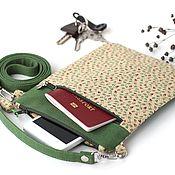 Сумки и аксессуары handmade. Livemaster - original item Bag textile, holder for documents bag organizer. Handmade.