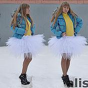 """Юбки ручной работы. Ярмарка Мастеров - ручная работа юбка - пачка """"Белый лебедь"""". Handmade."""