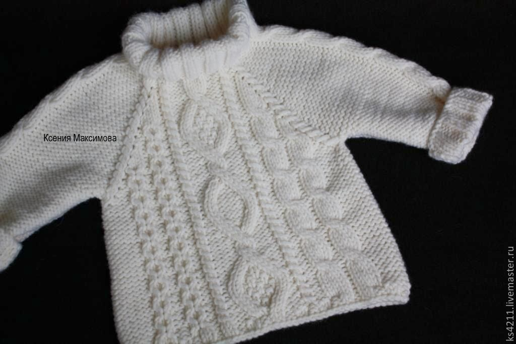 Sweater knitted Royal, Sweaters and jumpers, Novokuznetsk,  Фото №1