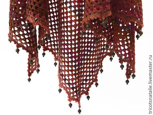 Ажурная шерстяная шаль шаль шали шерстяная шаль