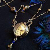 Украшения handmade. Livemaster - original item Watch locket: Watch