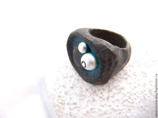 """Кольца ручной работы. Ярмарка Мастеров - ручная работа. Купить Кольцо деревянное """"На безымянной высоте"""". Handmade. Кольцо из дерева"""