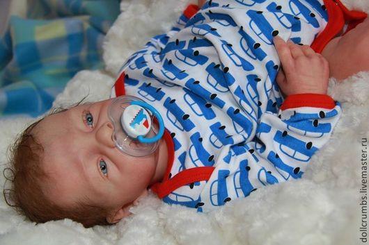 Куклы-младенцы и reborn ручной работы. Ярмарка Мастеров - ручная работа. Купить Младенец реборн Baby Doll. Handmade. Голубой