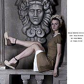 """Одежда ручной работы. Ярмарка Мастеров - ручная работа Комплект платьев  """"edge Safari"""". Handmade."""