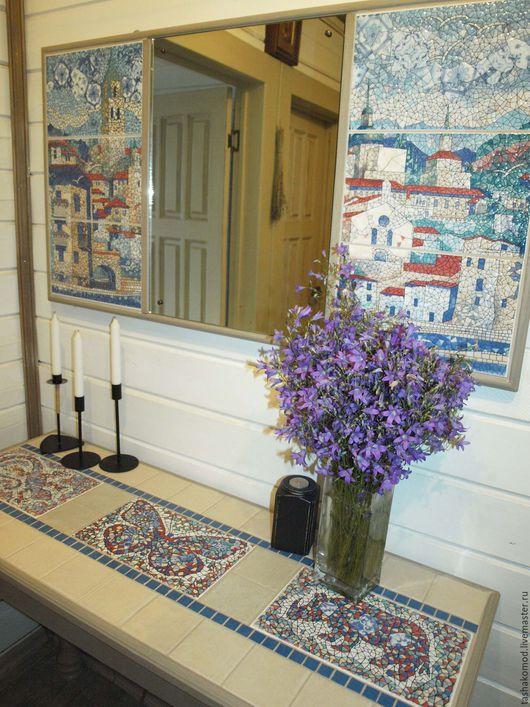 """Мебель ручной работы. Ярмарка Мастеров - ручная работа. Купить Консоль и зеркало  """"Гауди"""". Handmade. Мебель, зеркало"""