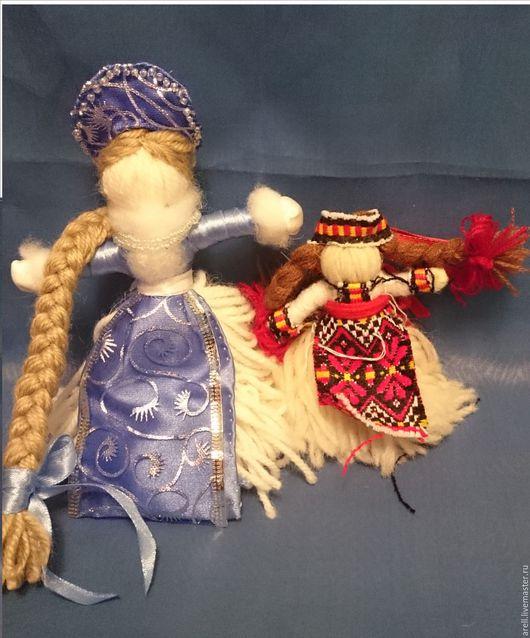 Народные куклы ручной работы. Ярмарка Мастеров - ручная работа. Купить Народные куклы. Handmade. Комбинированный, обереги в подарок, бисер