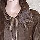 Пиджаки, жакеты ручной работы. Жакет ( куртка) СТАТУС. АртВойлок творческая мастерская. Интернет-магазин Ярмарка Мастеров. коричневый