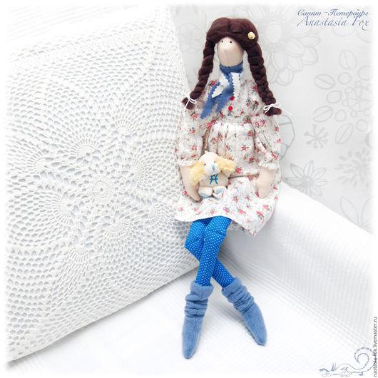 """Куклы Тильды ручной работы. Ярмарка Мастеров - ручная работа. Купить Тильда """"Вероника"""". Handmade. Белый, тильда, кукла интерьерная"""