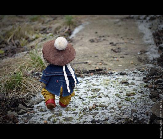"""Мишки Тедди ручной работы. Ярмарка Мастеров - ручная работа. Купить """"Сказки старого леса"""": Ронни. Handmade. Комбинированный, wood"""